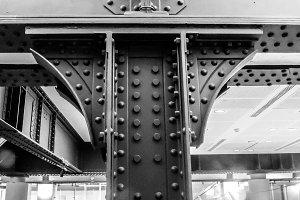 Steel detail Eiffel Tower
