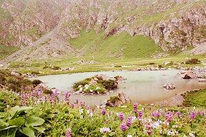 Mountain Lake in the morning