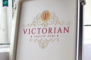 Victorian - Vintage Flourishes Logo