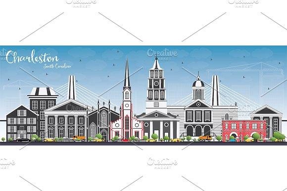 Charleston South Carolina Skyline