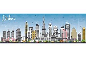 Dubai UAE Skyline