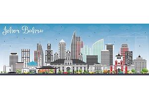 Johor Bahru Malaysia Skyline