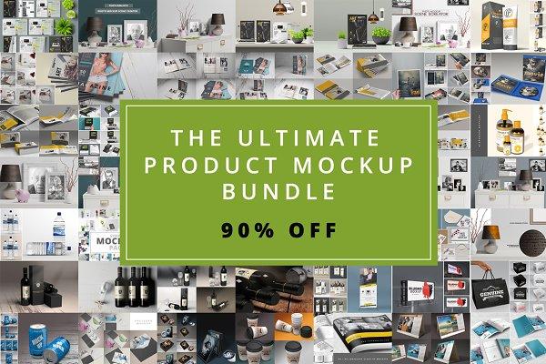 The Ultimate Mockup Bundle - 90% Of…