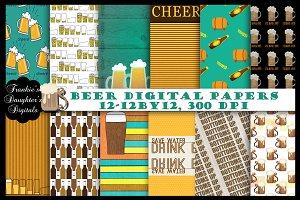 Save Water, Drink Beer Papers