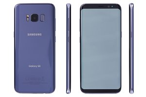 Different views of samsung s8