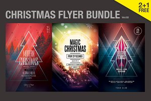 SALE% Christmas Flyer Bundle Vol.02