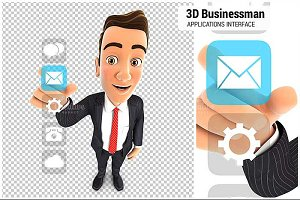 3D Businessman Applications
