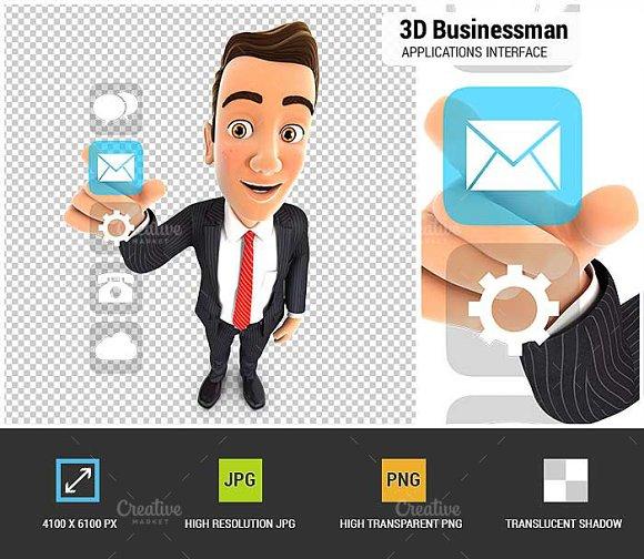 3D Businessman Applications