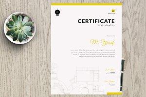 Certificate vm2