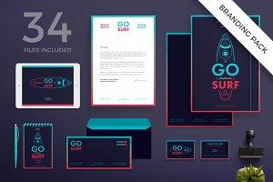 Branding Pack | Go Surf