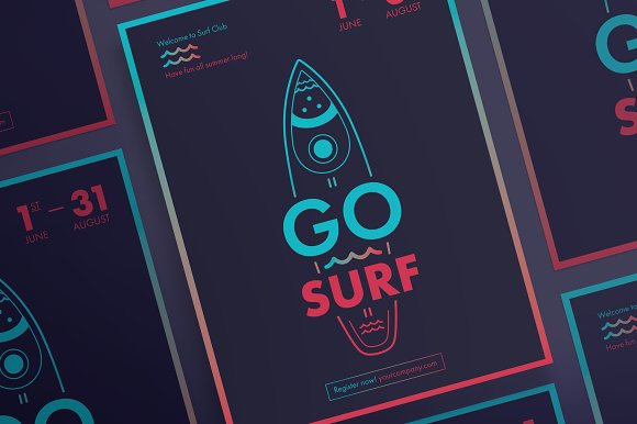 Posters Go Surf