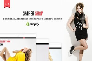 Gather - Fashion Shopify Theme