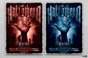 Halloween Flyer Template V9