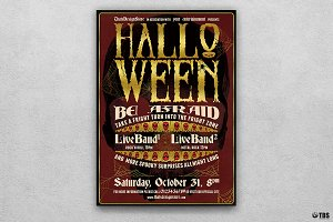 Halloween Flyer Template V11