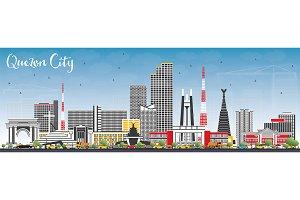 Quezon City Philippines Skyline