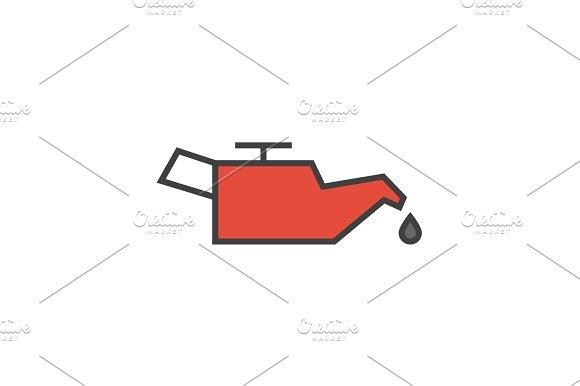Car Engine Oil Icon