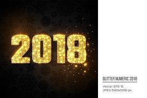 Glitter numeric 2018.