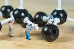 science molecule model