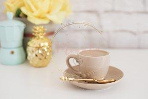 Coffee - Desktop Styled Stock Photo