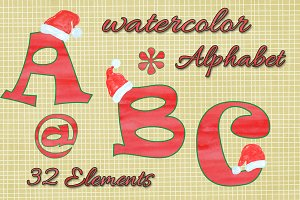 Christmas Kids Alphabet