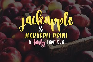 JackApple - A Tasty Font Duo