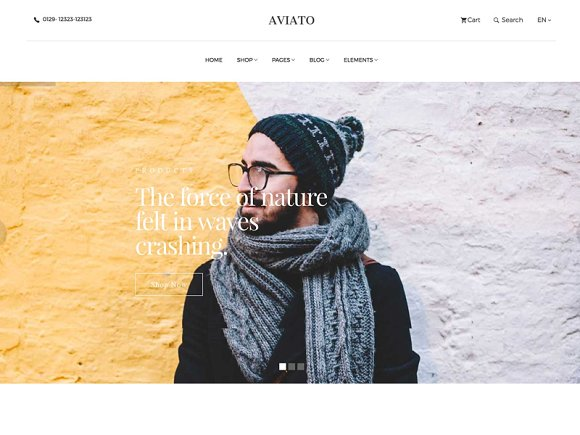 Aviato-Bootstrap E-Commerce Template