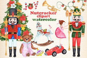 Christmas Nutcracker kids clipart