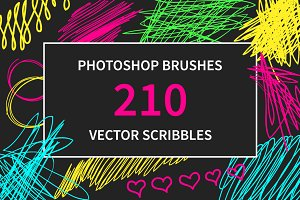 210 PS Brushes and Vector Scribbles