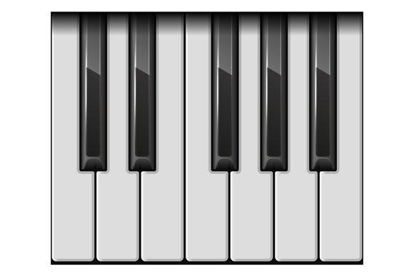 Piano Keys Set