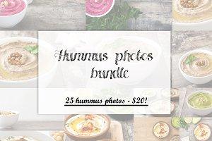 20 Variety of hummus photos