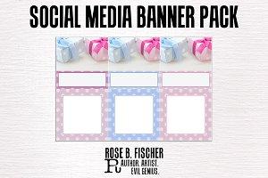 Elegant Gift Social Media Banners