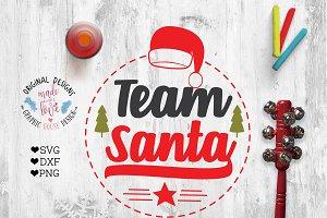 Team Rudolf Team Santa Cut Files