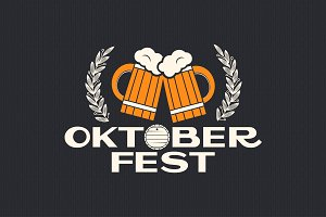 oktoberfest beer design background