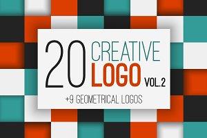20 Creative Logo VOL.2 (94%OFF)