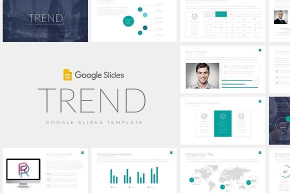 trend google slides template presentation templates creative