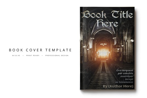 Book Cover Template 11