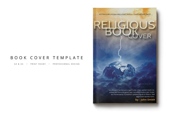 Book Cover Template 12