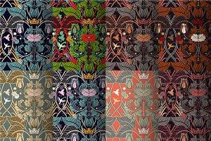8 Modern Floral Patterns