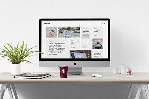 Pasadena – Unique HTML Portfolio