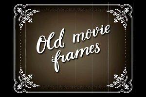 Silent movie frames