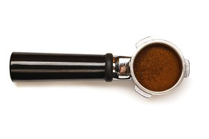 Espresso coffee machine piston