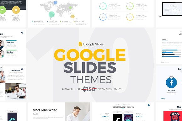 10 google slides themes 2017 presentation templates creative market
