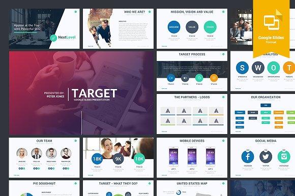 Google Slides Themes Presentation Templates Creative Market - Slide templates
