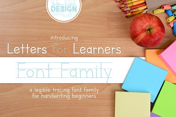 Letters For Learners Font Family
