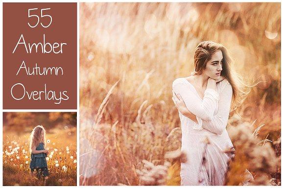 55 Dreamy Autumn Light Overlays