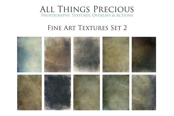 Fine Art Textures Overlays Set 2