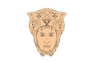 Female Aztec Warrior Jaguar
