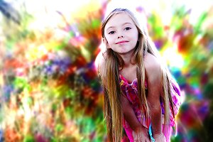 Color Aura Photoshop Action