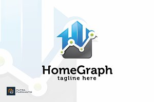 Home Graph - Logo Template