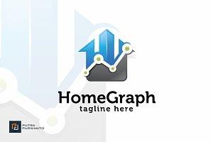 Home Graph - Logo Template